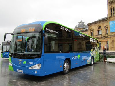 San Sebastian increases electric bus fleet