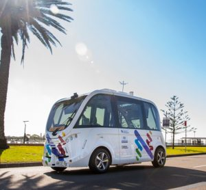 Driverless shuttle trial launched in Newcastle, Australia