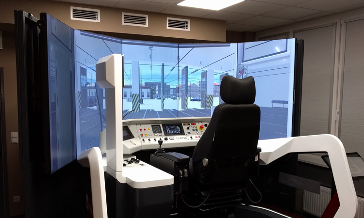 Tramway driving simulators revolutionise training in Vienna