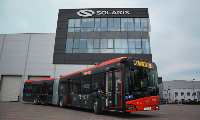 Solaris Bus & Coach S.A. complete first order for the Dutch market