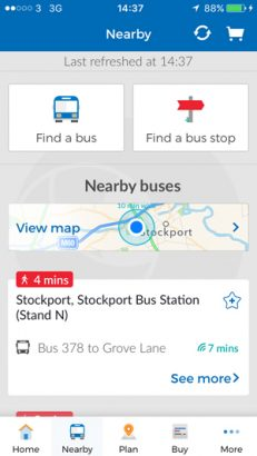 One in four buses outside London to benefit from Stagecoach Bus App