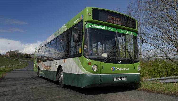 Stagecoach environmentally friendly biobus