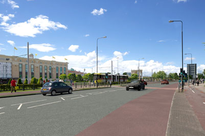 Public gives Trafford Park Metrolink line plans the thumbs-up