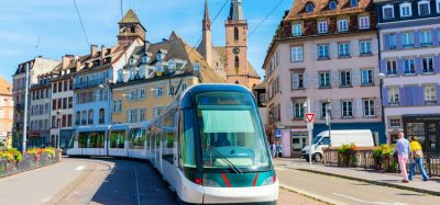 CTS tram in Strasbourg - accessible via Hoplink