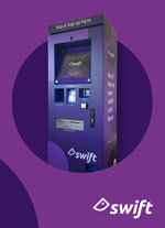Swift kiosk customers