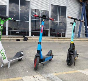 TFL scooter trial operators