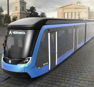 Tampere in Finalnd tram order