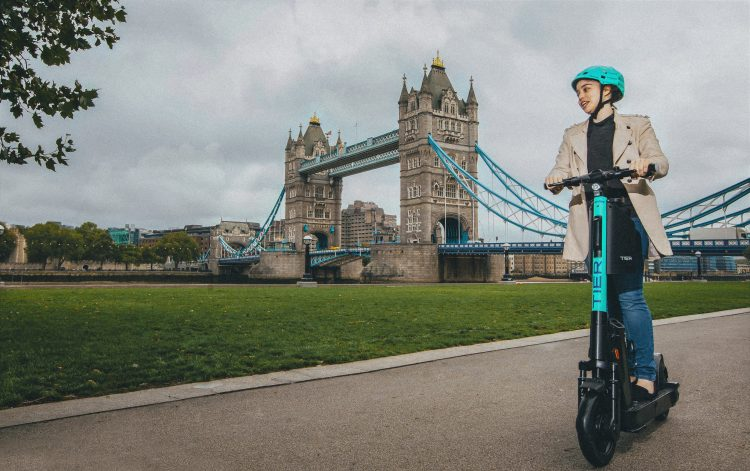 TIER scooter London