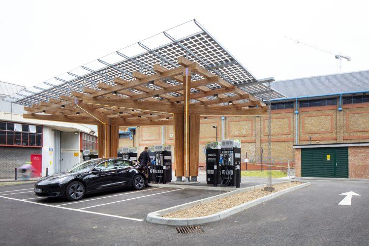glass yard electric hub
