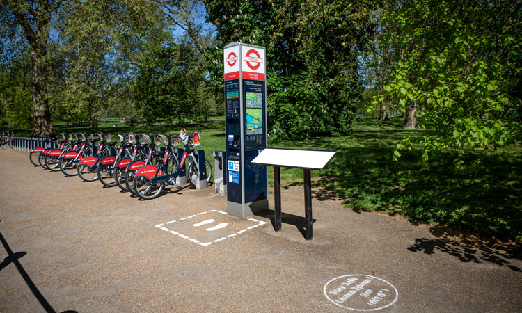 TfL's Santander Cycles being expanded after COVID-19