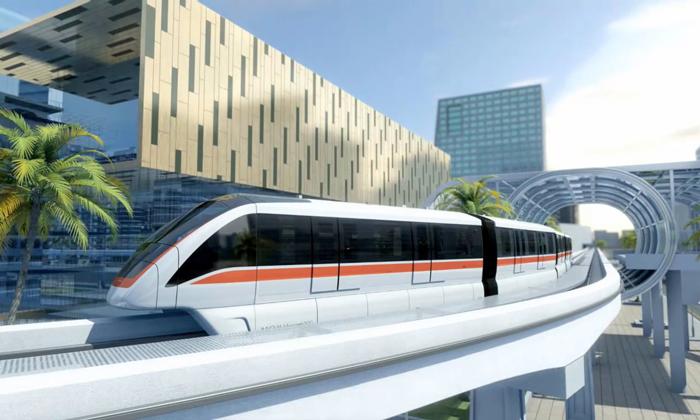 Thailand monorails