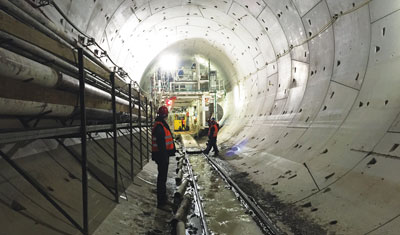 The Kombilösung project in Karlsruhe digs forward