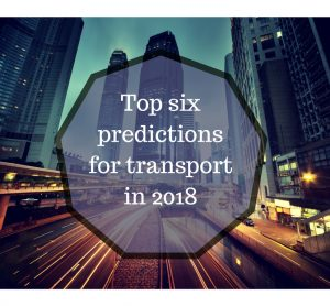 Top six predictions for transport in 2018