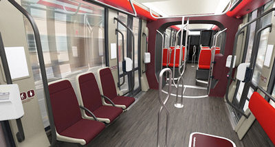 Tram design revealed for the East-West line of the Nice Côte d'Azur Metropole