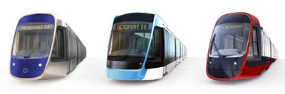 Tram design revealed for the East-West line of the Nice Cote dAzur Metropole