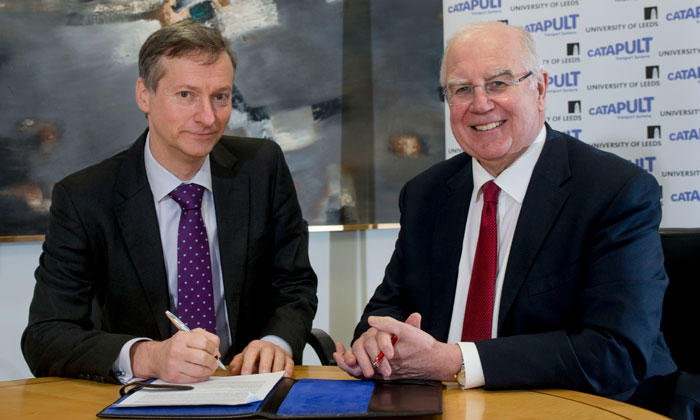Alliance agreed between Leeds University and Transport Systems Catapult