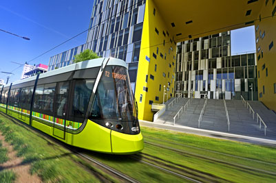CAF wins Saint-Etienne tram project