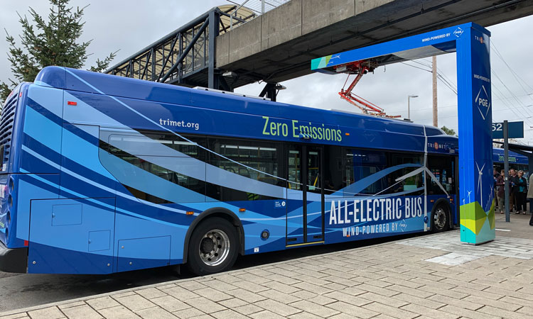 Portland's new electric buses will be 100 per cent wind powered