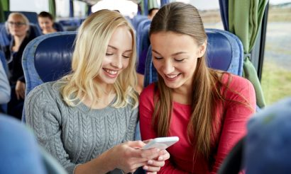 Could entertainment on public transport become a big revenue generator in the future?