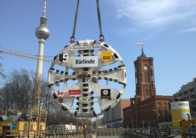 Tunnelling work on Berlin U5 line complete