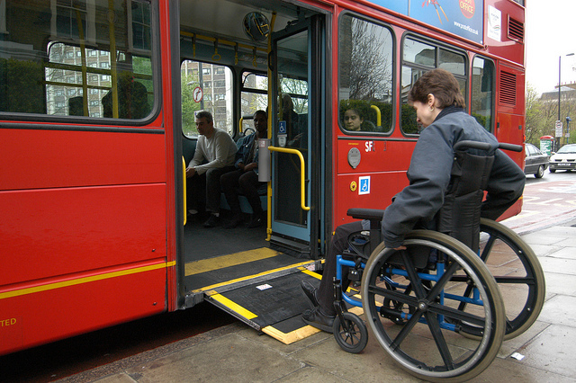 Two London boroughs ensure accessible bus stops