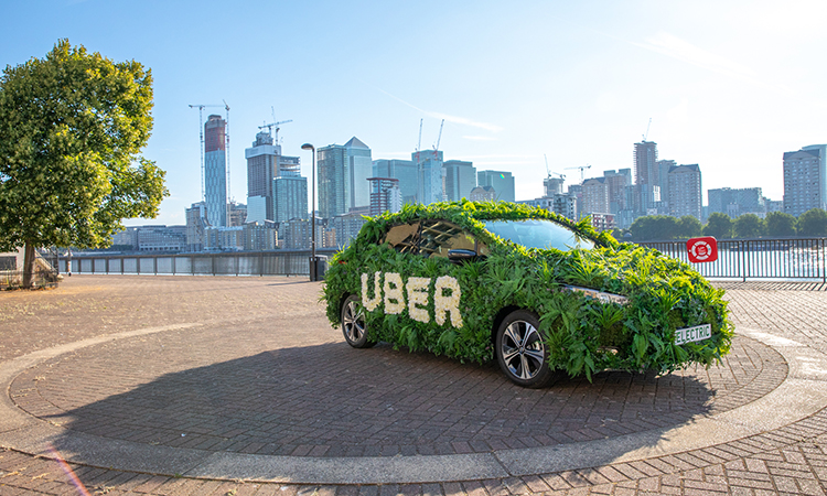 Uber Green launches in London today