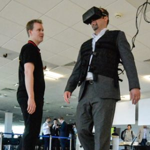 Virtual reality lab opens to improve UK transport network