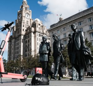 Voi e-scooter in Liverpool