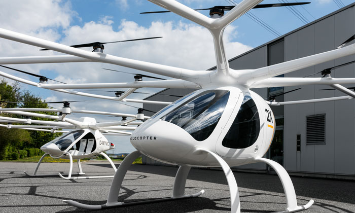 Sky high: can flying taxis transform public transport?