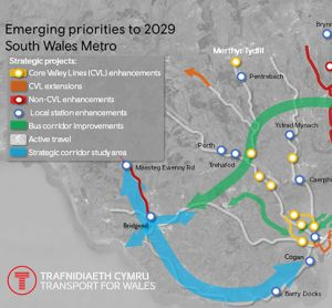 New maps show the 'enormous scale' of the Welsh Metro project