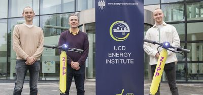 Zipp Mobility and UCD Energy Institute partner to improve e-scooter safety