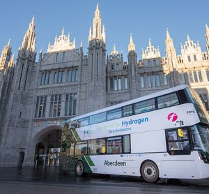 Aberdeen launched its hydrogen buses this week