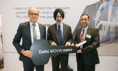 InnoTrans: Bombardier marks delivery of additional cars for Delhi Metro