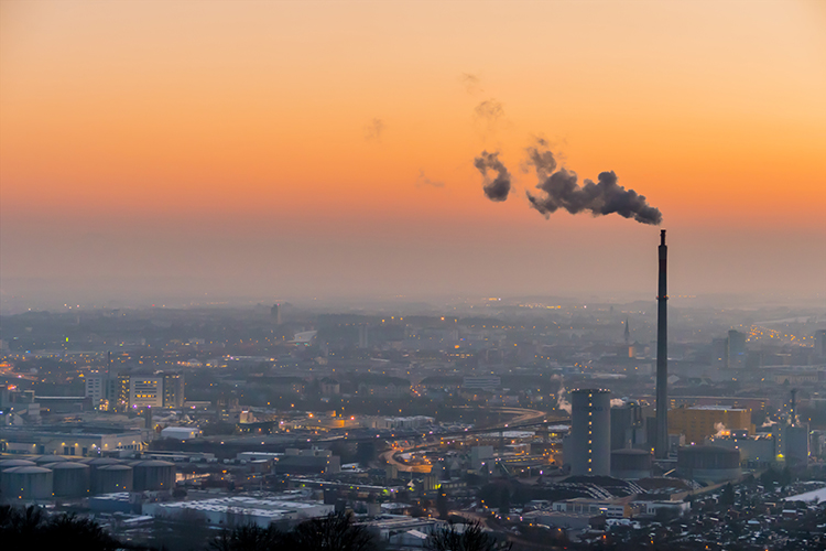 Air quality in Europe has been improving