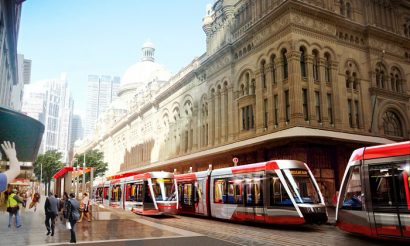 World's first Citadis X05 Light Rail Vehicle delivered to Sydney