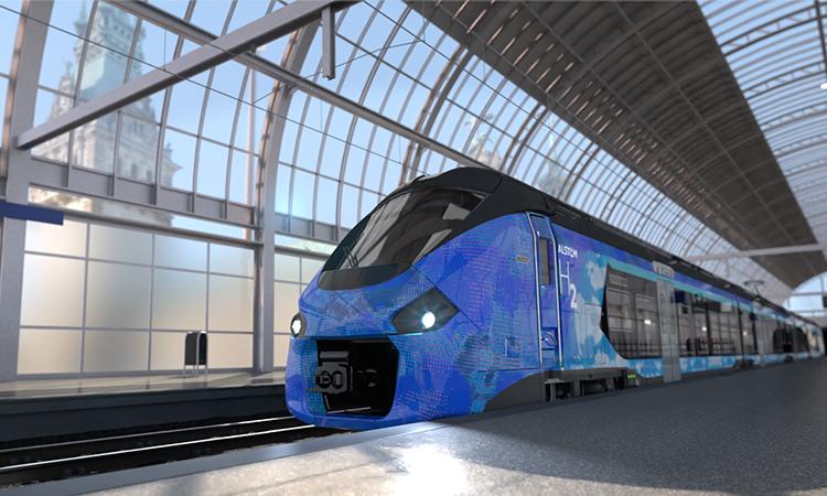 Alstom hydrogen train