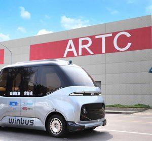 ARTC's WinBus in Taiwan