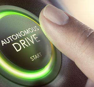 autonomous drive button