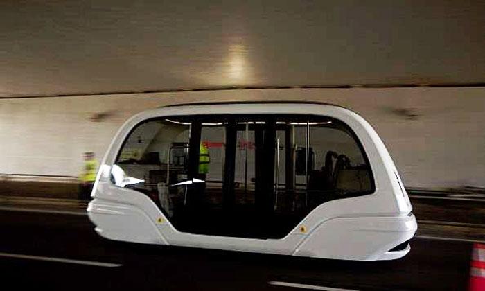 Autonomous vehicle tests