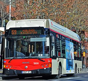 barcelona buses could soon be electric