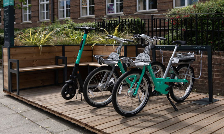 How micromobility parking can create healthier and happier streets