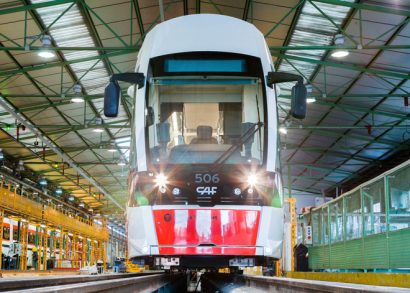 GVB selects CAF to supply 63 new bi-directional trams for Amsterdam