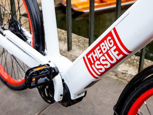 A new Big Issue e-bike