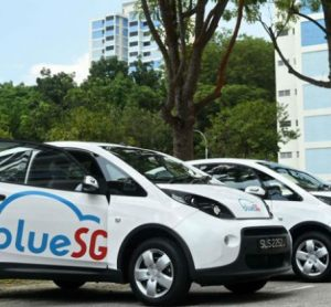 Singapore's first electric car-sharing service rolls out with 80 vehicles