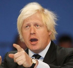 Boris Johnson, the Mayor of London