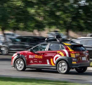 BotRide on-demand autonomous vehicle service to be piloted in California