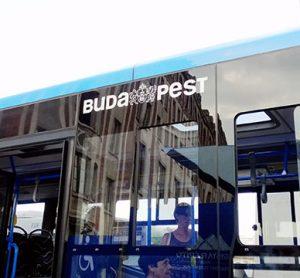 A Budapest bus run by VT-Arriva