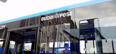 A Budapest bus run by VT-Arriva