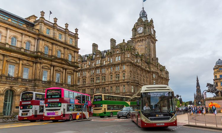 £10 million for pop-up bus priority infrastructure announced in Scotland