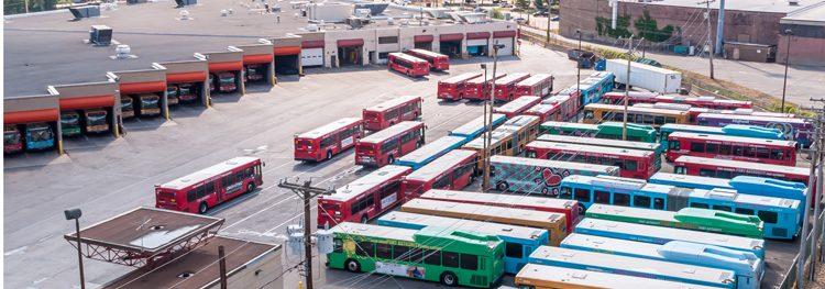 $464 million awarded to revitalise America's bus infrastructure
